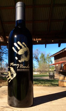 2014 Many Hands Cuvee Rouge Image