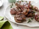 Grilled Lamb Lolli-Pops with Raspberry-Mint Sauce