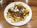 Lamb Ragu with Pappardelle